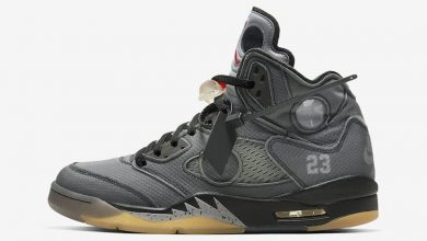 Photo of Air Jordan 5 Off-White Release Links & Raffles