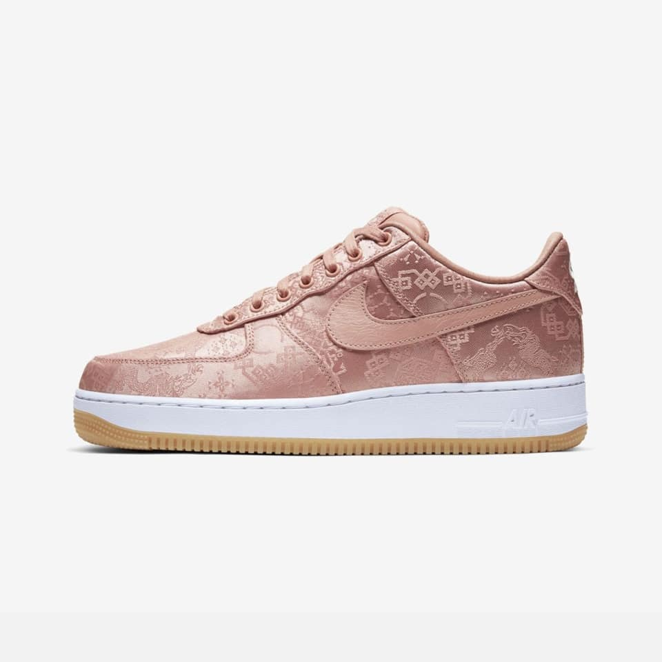 How to Cop Air Force 1 Low Clot Rose Gold Silk Raffles