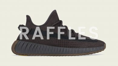 Photo of adidas Yeezy Boost 350 V2 Cinder Raffles