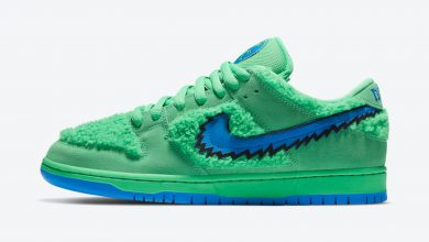 Photo of Nike SB Dunk Low Pro Grateful Dead Green Raffles & Release Links