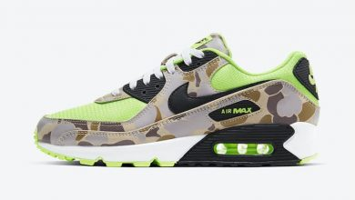 Photo of Nike Air Max 90 Green Camo Raffles