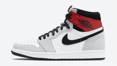Photo of Air Jordan 1 High Light Smoke Grey Raffles & Release Links