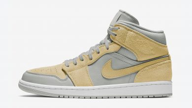 Photo of Air Jordan 1 Mid SE Mixed Textures Yellow Raffles & Release Links