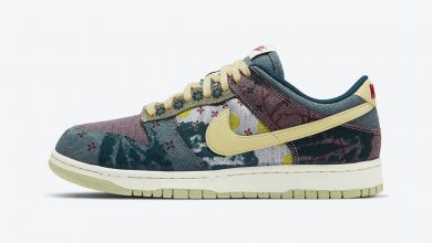 Photo of Nike Dunk Low Community Garden Lemon Wash Raffles & Release Links