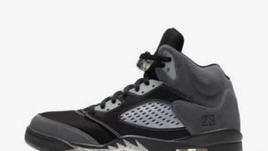 Photo of Air Jordan 5 Anthracite Raffles & Release Links